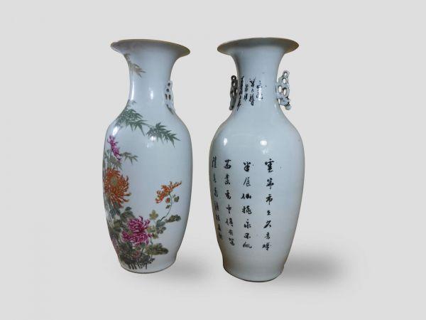 Hoe herken je een oude Chinese vaas antiek huyze picart