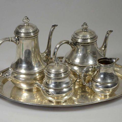 waarde antiek theeservies