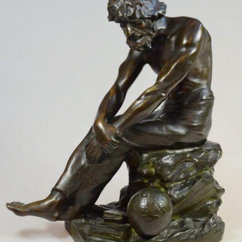 schatting bronzen beeld