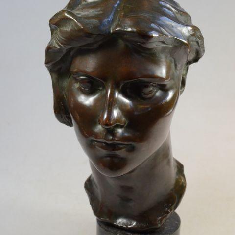 aankoop bronzen beeld