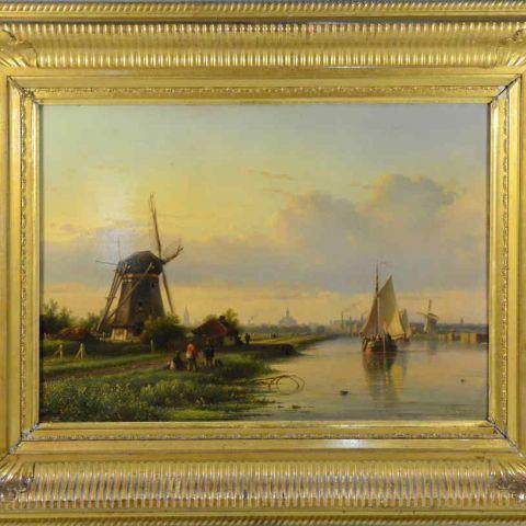 aankoop antieke schilderijen
