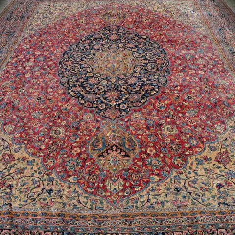 antiek tapijt